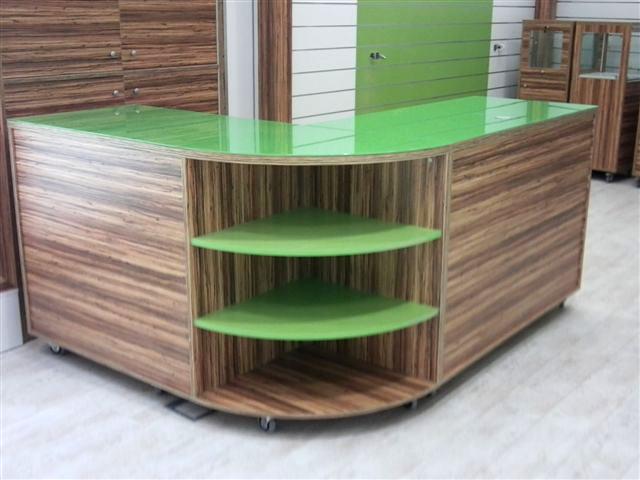 Mostradores de madera anfra instalaciones comerciales - Mostradores de madera para negocios ...