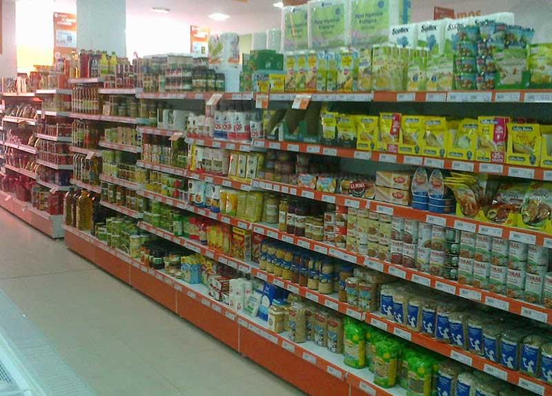 Estantería modular para supermercado
