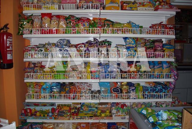 Estantería para supermercado